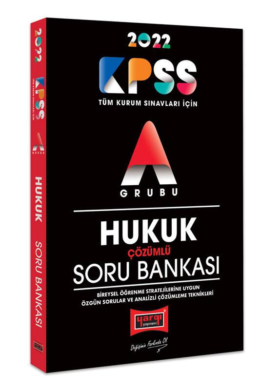 Yargı Yayınları 2022 KPSS A Grubu Hukuk Çözümlü Soru Bankası