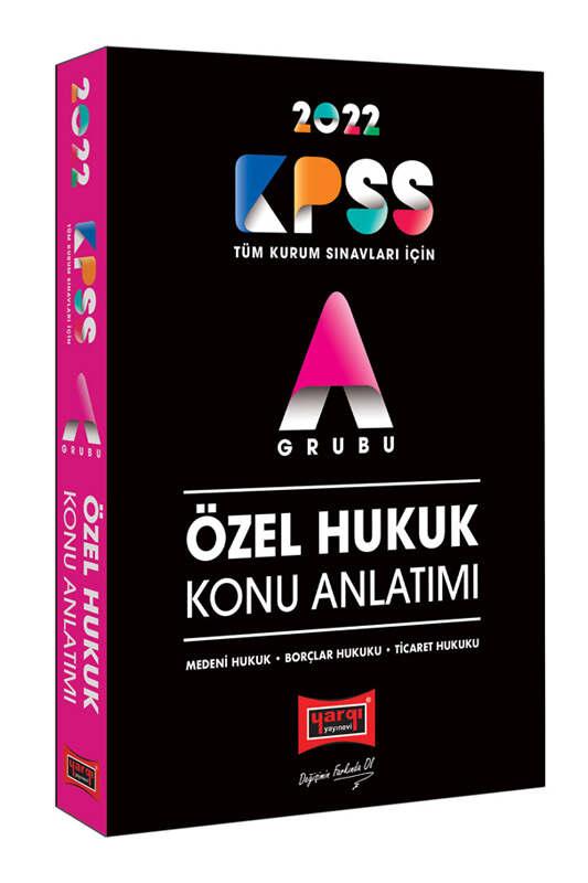 Yargı Yayınları 2022 KPSS A Grubu Özel Hukuk Konu Anlatımı