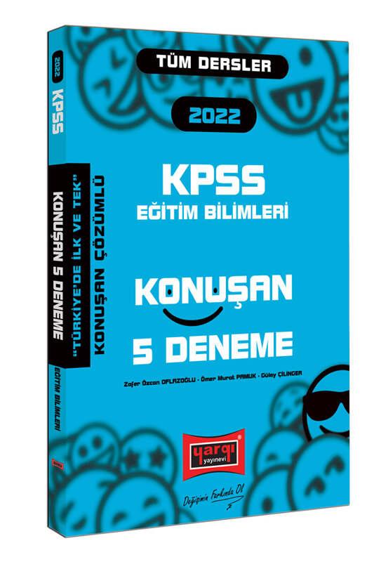 Yargı Yayınları 2022 KPSS Eğitim Bilimleri Konuşan 5 Deneme