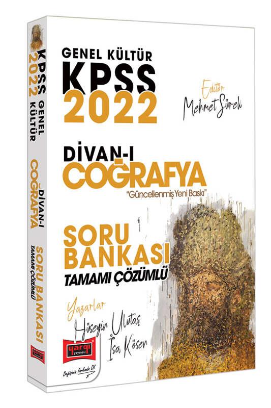 Yargı Yayınları 2022 KPSS Genel Kültür Divan-ı Coğrafya Tamamı Çözümlü Soru Bankası