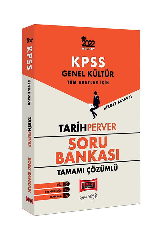 Yargı Yayınları 2022 KPSS Genel Kültür TarihPerver Tamamı Çözümlü Soru Bankası