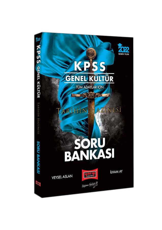Yargı Yayınları 2022 KPSS Genel Kültür Tüm Adaylar İçin Tarihin Hazinesi Tamamı Çözümlü Soru Bankası