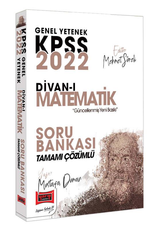 Yargı Yayınları 2022 KPSS Genel Yetenek Divan-ı Matematik Tamamı Çözümlü Soru Bankası