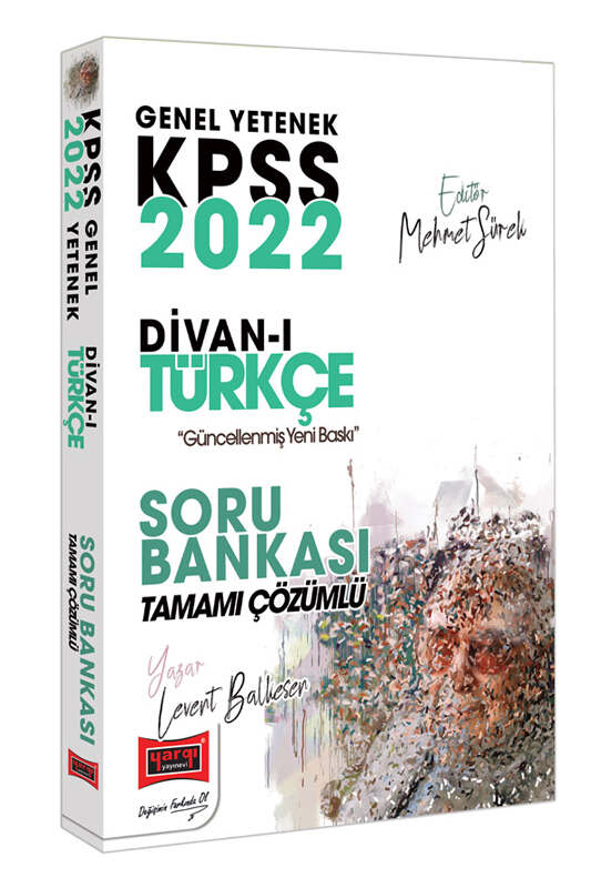 Yargı Yayınları 2022 KPSS Genel Yetenek Divan-ı Türkçe Tamamı Çözümlü Soru Bankası