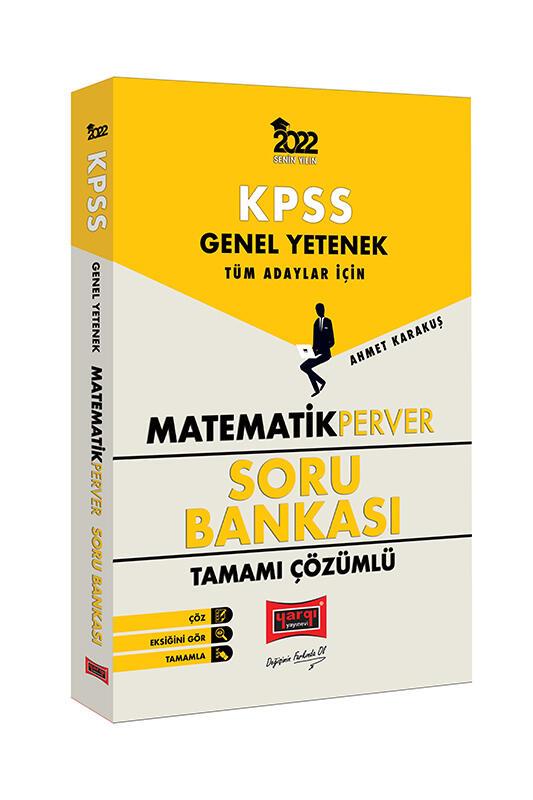 Yargı Yayınları 2022 KPSS Genel Yetenek MatematikPerver Tamamı Çözümlü Soru Bankası