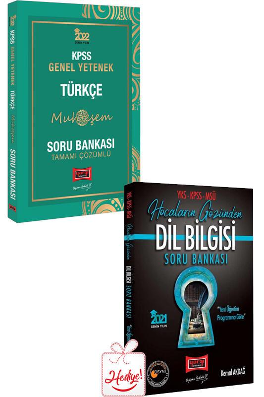 Yargı Yayınları 2022 KPSS Genel Yetenek Muhteşem Türkçe Tamamı Çözümlü Soru Bankası
