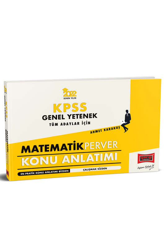 Yargı Yayınları 2022 KPSS Genel Yetenek Tüm Adaylar İçin MatematikPerver Konu Anlatımı