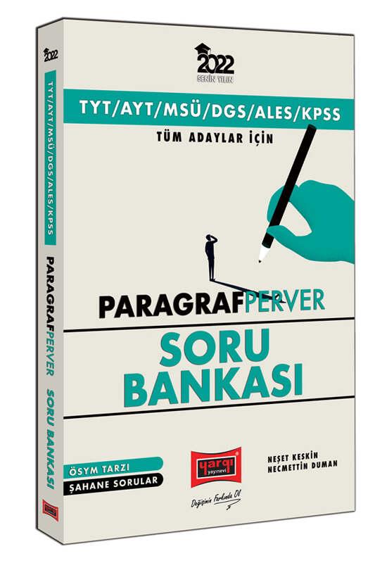 Yargı Yayınları 2022 TYT AYT MSÜ DGS ALES KPSS Tüm Adaylar İçin ParagrafPerver Soru Bankası