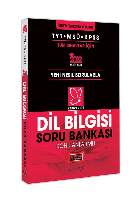 Yargı Yayınları 2022 TYT MSÜ KPSS Kelebek Serisi Dil Bilgisi Konu Anlatımlı Soru Bankası