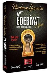 Yargı Yayınları - Yargı Yayınları AYT Hocaların Gözünden Edebiyat Konu Anlatım Föyleri