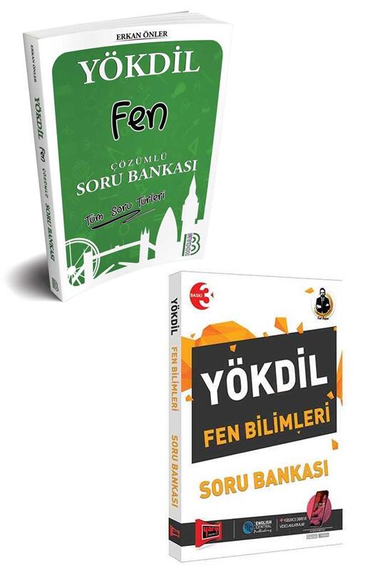 Yargı Yayınları & Benim Hocam Yayınları YÖKDİL Fen Bilimleri Soru Bankası Seti