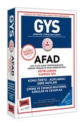 Yargı Yayınları - Yargı Yayınları GYS AFAD Eğitim Uzmanı Kadrosu İçin Konu Özetli Çıkmış ve Çıkması Muhtemel Sorular