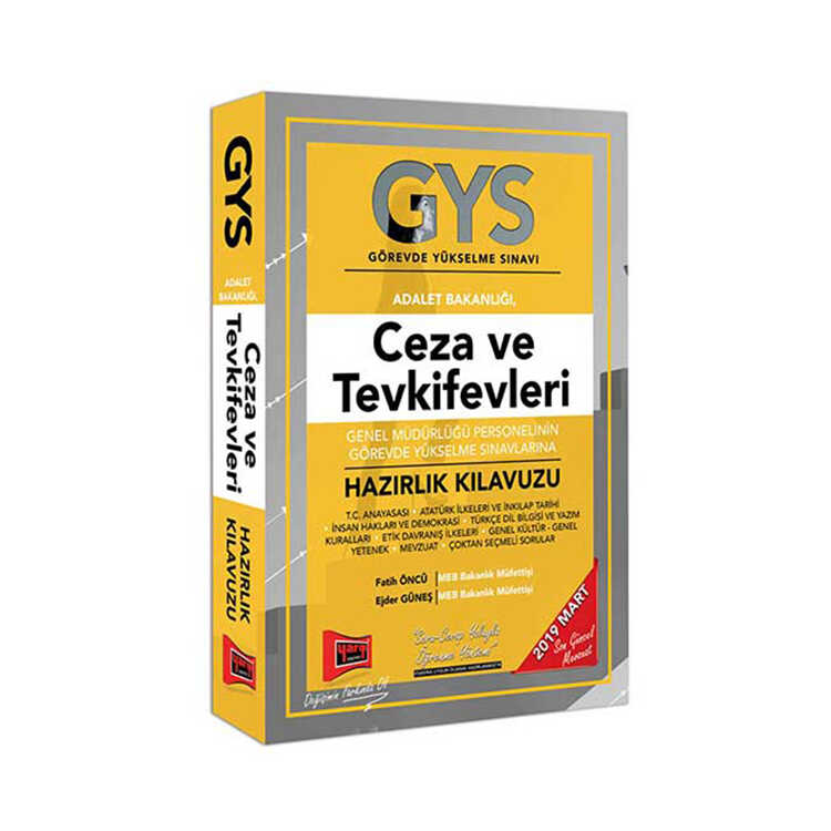 Yargı Yayınları GYS Ceza ve Tevkifevleri Genel Müdürlüğü Personelinin Görevde Yükselme Sınavlarına Hazırlık Kılavuzu