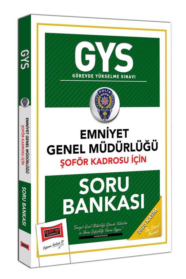 Yargı Yayınları GYS Emniyet Genel Müdürlüğü Şoför Kadrosu İçin Soru Bankası