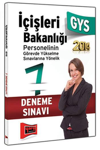 Yargı Yayınları GYS İçişleri Bakanlığı 7 Fasikül Deneme Sınavı 2014