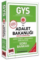 Yargı Yayınları - Yargı Yayınları GYS T.C. Adalet Bakanlığı Memur Kadrosu İçin Konu Özetli Soru Bankası