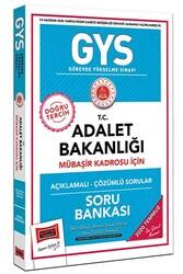 Yargı Yayınları - Yargı Yayınları GYS T.C. Adalet Bakanlığı Mübaşir Kadrosu İçin Açıklamalı Soru Bankası