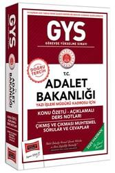 Yargı Yayınları - Yargı Yayınları GYS T.C. Adalet Bakanlığı Yazı İşleri Müdürü Kadrosu İçin Konu Özetli Açıklamalı Ders Notları