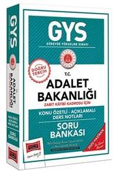 Yargı Yayınları - Yargı Yayınları GYS T.C. Adalet Bakanlığı Zabıt Katibi Kadrosu İçin Konu Özetli Soru Bankası