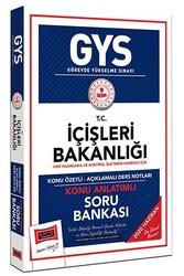 Yargı Yayınları - Yargı Yayınları GYS T.C. İçişleri Bakanlığı Veri Hazırlama ve Kontrol İşletmeni Kadrosu İçin Konu Anlatımlı Soru Bankası