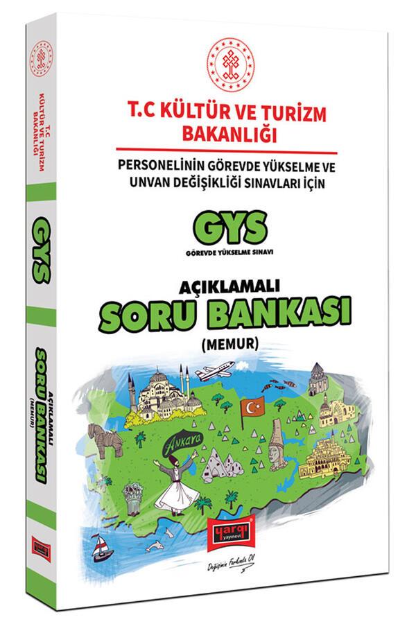 Yargı Yayınları GYS T.C. Kültür ve Turizm Bakanlığı Memur İçin Açıklamalı Soru Bankası