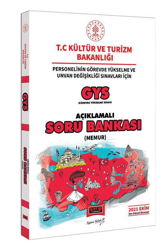 Yargı Yayınları GYS T.C Kültür ve Turizm Bakanlığı Personelinin Görevde Yükselme ve Unvan Değişikliği Sınavları İçin Memur Açıklamalı Soru Bankası