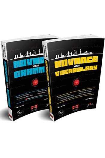 Yargı Yayınları İleri Seviye Gramer ve Akademik Kelime Kitap Paketi