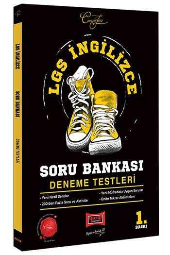 Yargı Yayınları LGS İngilizce Soru Bankası Deneme Testleri
