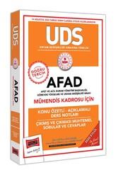 Yargı Yayınları - Yargı Yayınları UDS AFAD Mühendis Kadrosu İçin Konu Özetli Çıkmış ve Çıkması Muhtemel Sorular