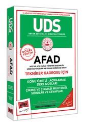 Yargı Yayınları - Yargı Yayınları UDS AFAD Tekniker Kadrosu İçin Konu Özetli Çıkmış ve Çıkması Muhtemel Sorular