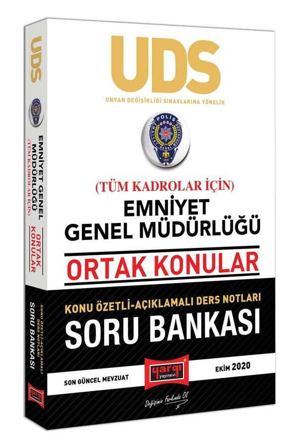 Yargı Yayınları UDS Emniyet Genel Müdürlüğü Ortak Konular Tüm Kadrolar İçin Konu Özetli Soru Bankası