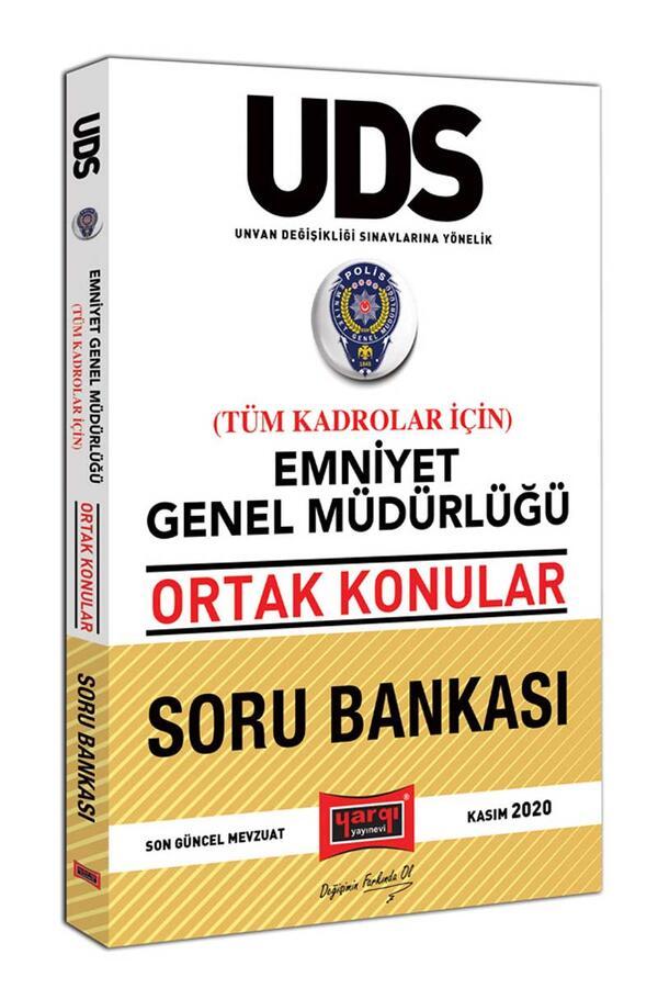 Yargı Yayınları UDS Emniyet Genel Müdürlüğü Ortak Konular Tüm Kadrolar İçin Soru Bankası