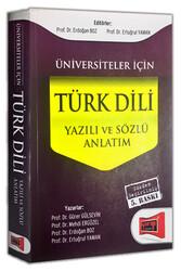 Yargı Yayınları - Yargı Yayınları Üniversiteler İçin Türk Dili Yazılı ve Sözlü Anlatım