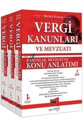 Yargı Yayınları - Yargı Yayınları Vergi Kanunları ve Mevzuatı Konu Anlatımı ve Soru Bankası 3 Kitap 7. Baskı