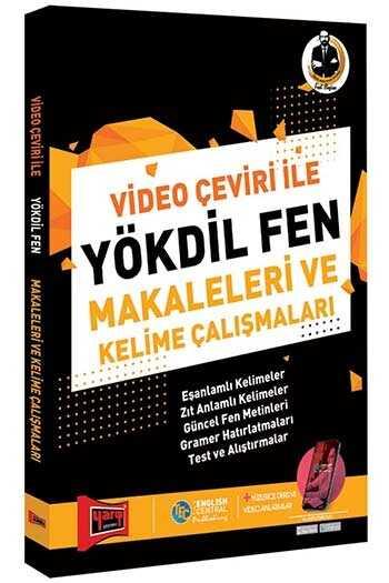 Yargı Yayınları Video Çeviri İle YÖKDİL Fen Makaleleri ve Kelime Çalışmaları 2. Baskı