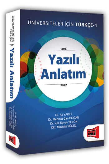 Yargı Yayınları Yazılı Anlatım Üniversiteler İçin Türkçe - 1
