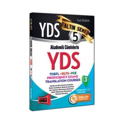 Yargı Yayınları - Yargı Yayınları YDS Akademik Cümlelerle YDS Altın Seri 5