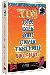 Yargı Yayınları - Yargı Yayınları YDS Çöz İzle Oku Çevir Testleri 500 Soru