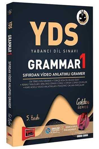 Yargı Yayınları YDS Grammar 1 Sıfırdan Video Anlatımlı Gramer 5. Baskı