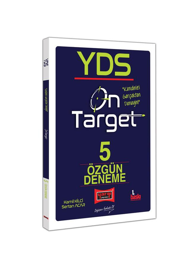Yargı Yayınları YDS On Target 5 Özgün Deneme Sınavı
