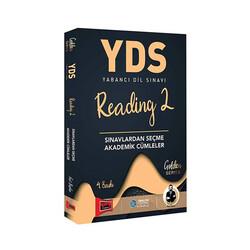 Yargı Yayınları - Yargı Yayınları YDS Reading 2 Sınavlardan Seçme Akademik Cümleler