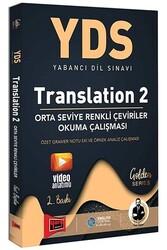 Yargı Yayınları - Yargı Yayınları YDS Translation 2 Orta Seviye Renkli Çeviriler Okuma Çalışması