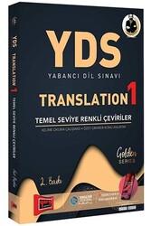 Yargı Yayınları - Yargı Yayınları YDS Yabancı Dil Sınavı Translation 1 Temel Seviye Renkli Çeviriler