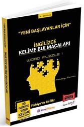 Yargı Yayınları - Yargı Yayınları Yeni Başlayanlar İçin İngilizce Kelime Bulmacaları Word Puzzle 1