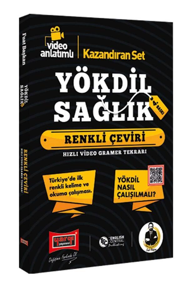 Yargı Yayınları YÖKDİL Sağlık Bilimleri Renkli Çeviri 4. Baskı