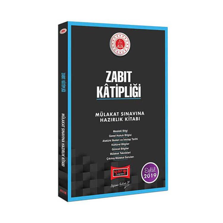 Yargı Yayınları Zabıt Katipliği Mülakat Sınavına Hazırlık Kitabı