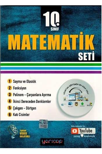 Yarı Çap Yayınları 10. Sınıf Matematik Seti
