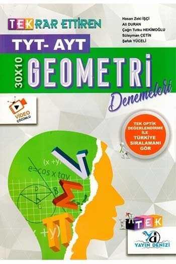Yayın Denizi Yayınları TYT AYT Geometri Tekrar Ettiren 30×10 Denemeleri