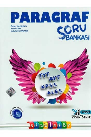 Yayın Denizi Yayınları TYT AYT KPSS ALES Paragraf Simülatör Soru Bankası