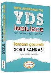 Yediiklim Yayınları - YDS İngilizce Tamamı Çözümlü Soru Bankası Yediiklim Yayınları